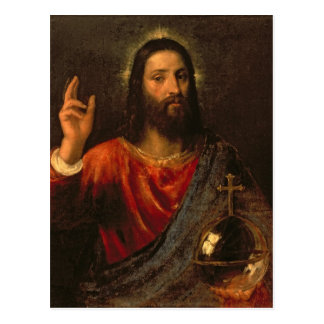 Salvador de Cristo, c.1570 Postal
