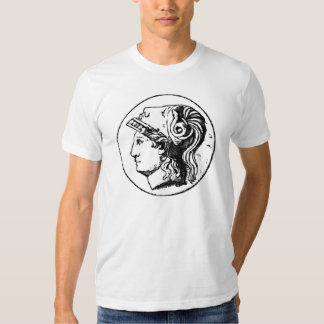 Salvador del saco de la moneda de diez centavos camiseta