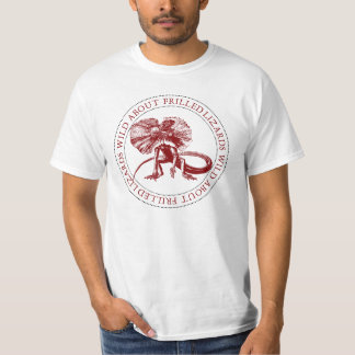 Salvaje sobre lagartos Frilled Camisas