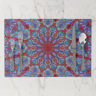 Salvamantel De Papel arabesque coloreado Boho-romántico del ornamento