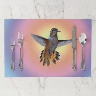 SALVAMANTEL DE PAPEL HUMMIMNGBIRD