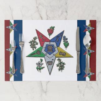 Salvamantel De Papel Orden de la estrella del este los E.E.U.U.