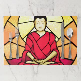 Salvamantel De Papel Ventana de cristal de la mancha de Bali Buda