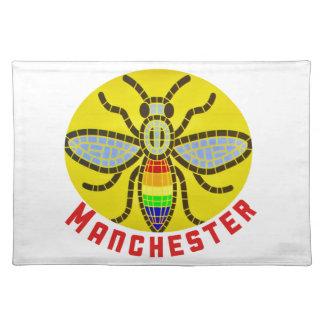 Salvamanteles Abeja de Manchester