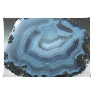 Salvamanteles Ágata azul