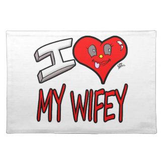 Salvamanteles Amo mi Wifey