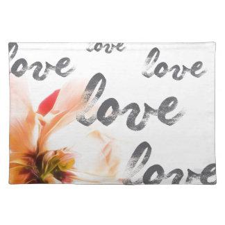 Salvamanteles Amor del amor del amor