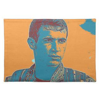 Salvamanteles Arte kurdo del combatiente de YPG