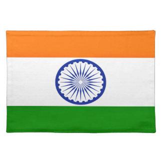 Salvamanteles ¡Bajo costo! Bandera de la India