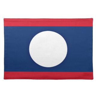 Salvamanteles ¡Bajo costo! Bandera de Laos