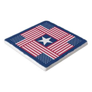 Salvamanteles Bandera americana patriótica