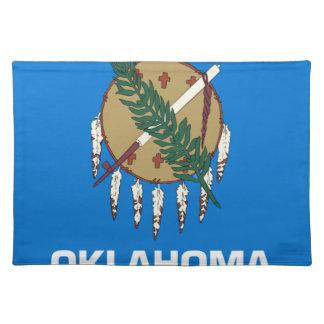 Salvamanteles Bandera de Oklahoma