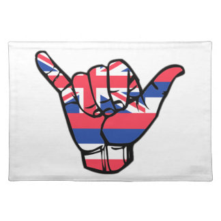 Salvamanteles Bandera de Shaka Hawaii