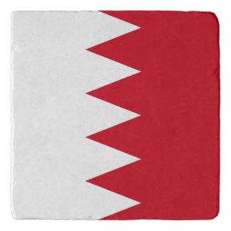 Salvamanteles Bandera patriótica de Bahrein