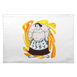 Salvamanteles Barrendero del sumo