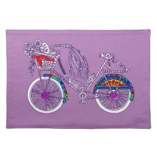 Salvamanteles Bicicleta