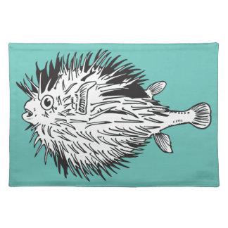 Salvamanteles Blowfish del Porcupinefish aka