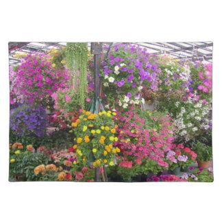 Salvamanteles Bolsillo por completo de flores