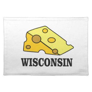 Salvamanteles Cabeza del queso de Wisconsin