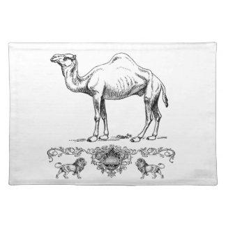 Salvamanteles camello de lujo del león