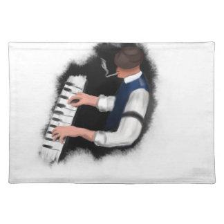 Salvamanteles Cantante del piano