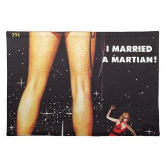 Salvamanteles Casé un Martian
