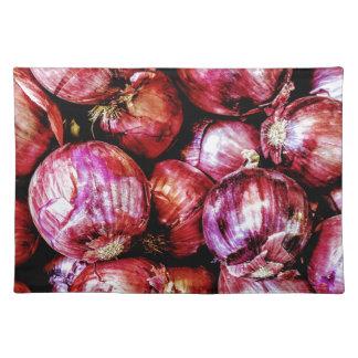 Salvamanteles Cebolla roja