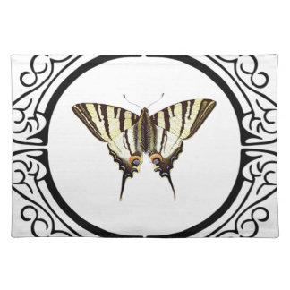 Salvamanteles círculo de la mariposa