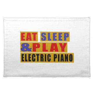 Salvamanteles Coma el PIANO ELÉCTRICO del sueño y del juego