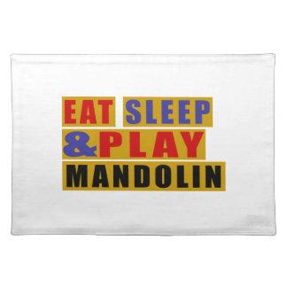 Salvamanteles Coma la MANDOLINA del sueño y del juego