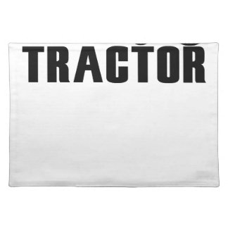 Salvamanteles Conduzca mi tractor