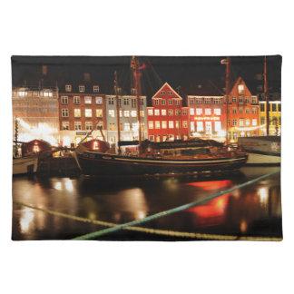 Salvamanteles Copenhague en la noche