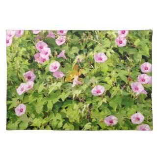 Salvamanteles Correhuelas rosadas Bush