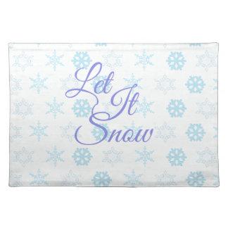Salvamanteles Dejáis le sea navidad Nevado