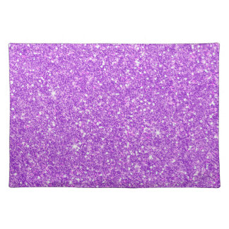 Salvamanteles Diamante púrpura del lujo del brillo
