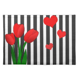 Salvamanteles Diseño de los tulipanes