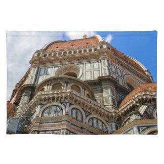 Salvamanteles Duomo, en Florencia, Toscana, Italia