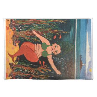 Salvamanteles El 2do en mi colección de sirenas cómicas