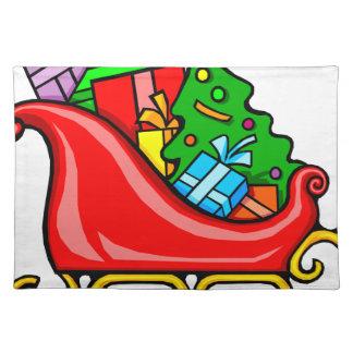 Salvamanteles El trineo de Santa