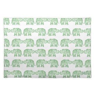 Salvamanteles Elefantes indios