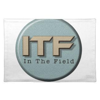 Salvamanteles En el logotipo de The Field
