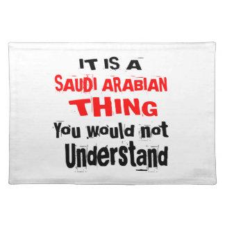 SALVAMANTELES ES DISEÑOS DE ARABIA SAUDITA DE LA COSA