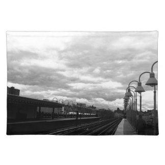 Salvamanteles Estación de tren