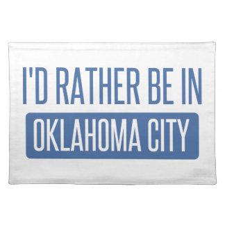 Salvamanteles Estaría bastante en el Oklahoma City