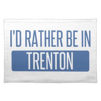 Salvamanteles Estaría bastante en Trenton