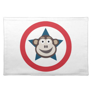 Salvamanteles Estera de lugar estupenda del mono