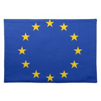 Salvamanteles Europa estandarte