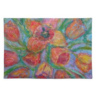 Salvamanteles Explosión del tulipán