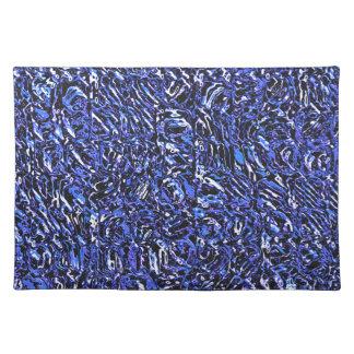Salvamanteles Extracto de cristal azul
