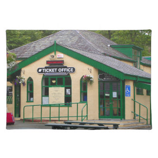 Salvamanteles Ferrocarril de la montaña de Snowdon, Llanberis,
